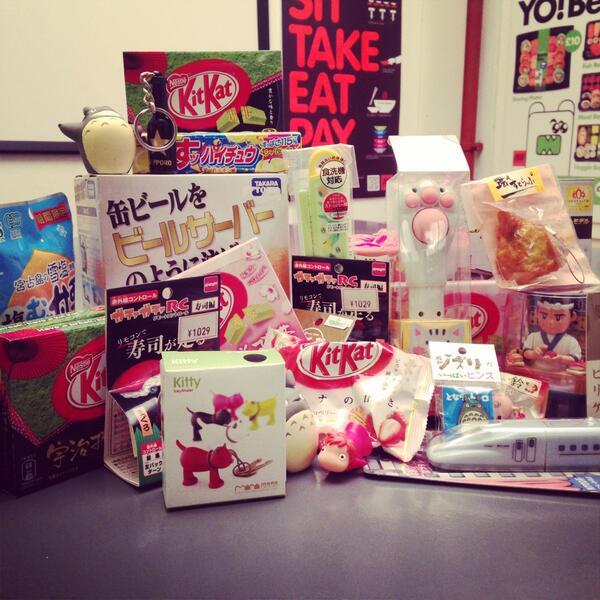 Let's celebrate Friday together with some treats... RT this to be in with a chance of winning these Japanese prizes! http://t.co/2CUhoOTDMp