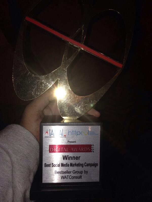 @watconsult wins the best social media marketing campaign 2013 at Iamai digital awards for #supersaturday campaign http://t.co/wCBbwGgZSr
