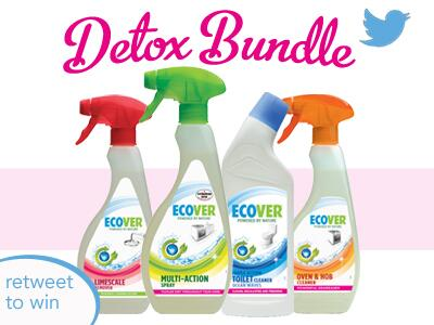We've a superb @EcoverUK #Detox Cleaning Bundle up for grabs. Simply #retweet to be in the hat to win :) #happyfriday http://t.co/fmkvlVzoAo
