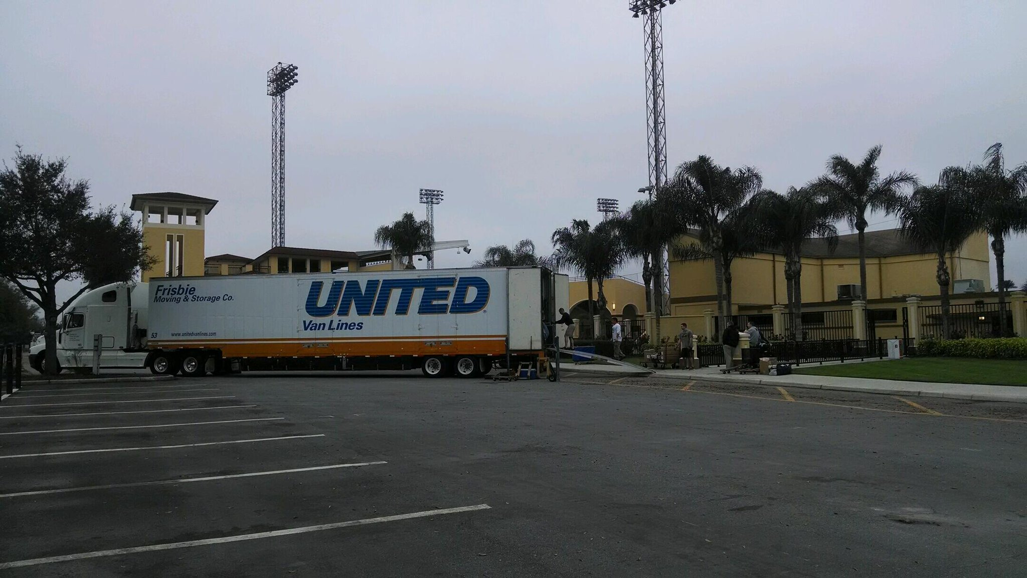 Twitter / LkdFlyingTigers: Trucks have arrived ...