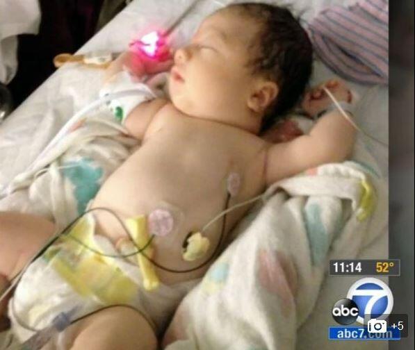 Elle s'appelle Hope. Ce «bébé fantôme», né sans sang, a miraculeusement survécu http://t.co/oB5mxEv6Kg http://t.co/Vi8Yla9BvU