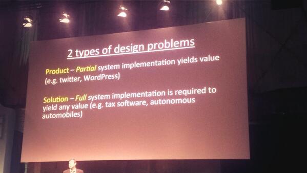 #ixd14 two types of design problems http://t.co/ya56KKellb
