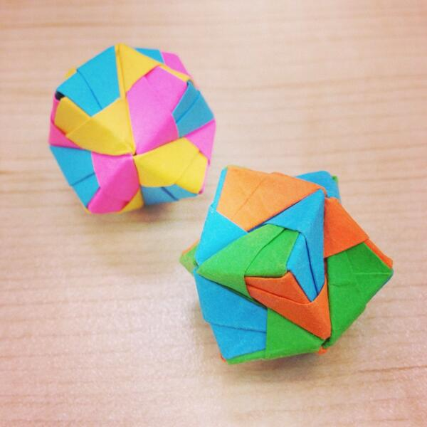 Dodecahedron Instructions with A6 paper | 600x600
