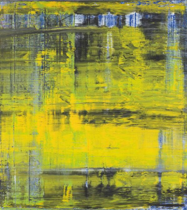 art of gerhard richter essay Lot essay 'richter has taken to flaying the painted skin of his canvases with a spatula in broad strokes or long, wavering stripes leaving  yellow, green, blue or violet planets' (r storr, gerhard richter: forty years of painting, exh cat, museum of modern art, new york, 2002, p 81.