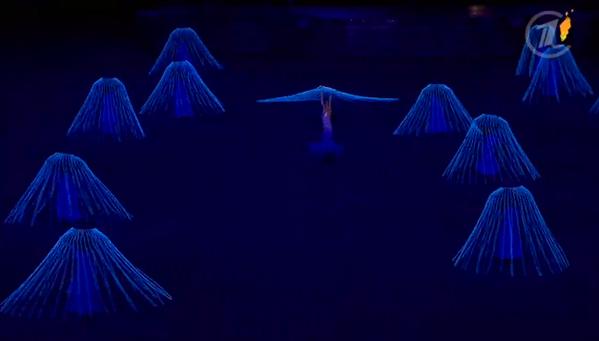 Медузы. Пляшут. Под лебединое озеро. На первом канале говорят про Пикассо и Ноев ковчег http://t.co/KLtkgjtOUr