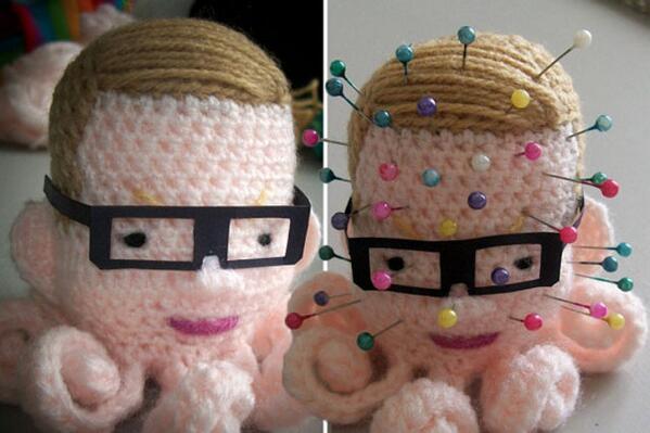 Michael Gove pin cushion doll.. http://t.co/X6Juiu1aET http://t.co/UFnVpT2FQB