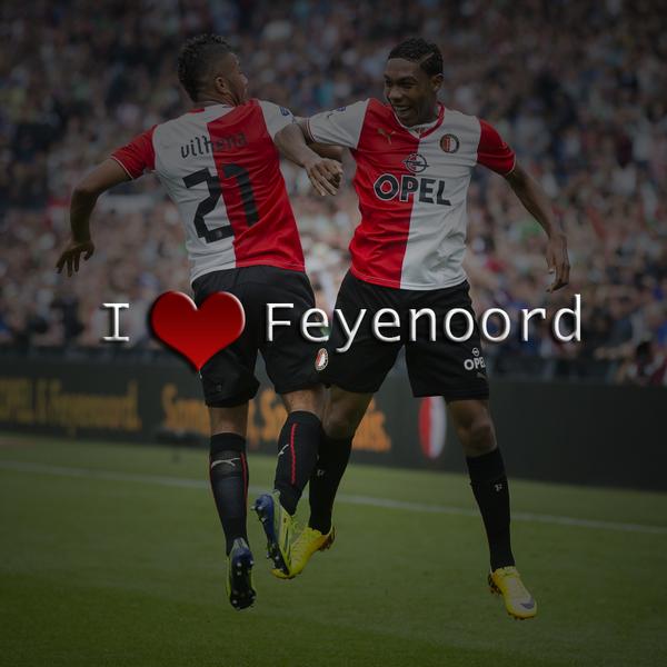We love you Feyenoord we do! RT = eens! http://t.co/9sSaZuLsMF