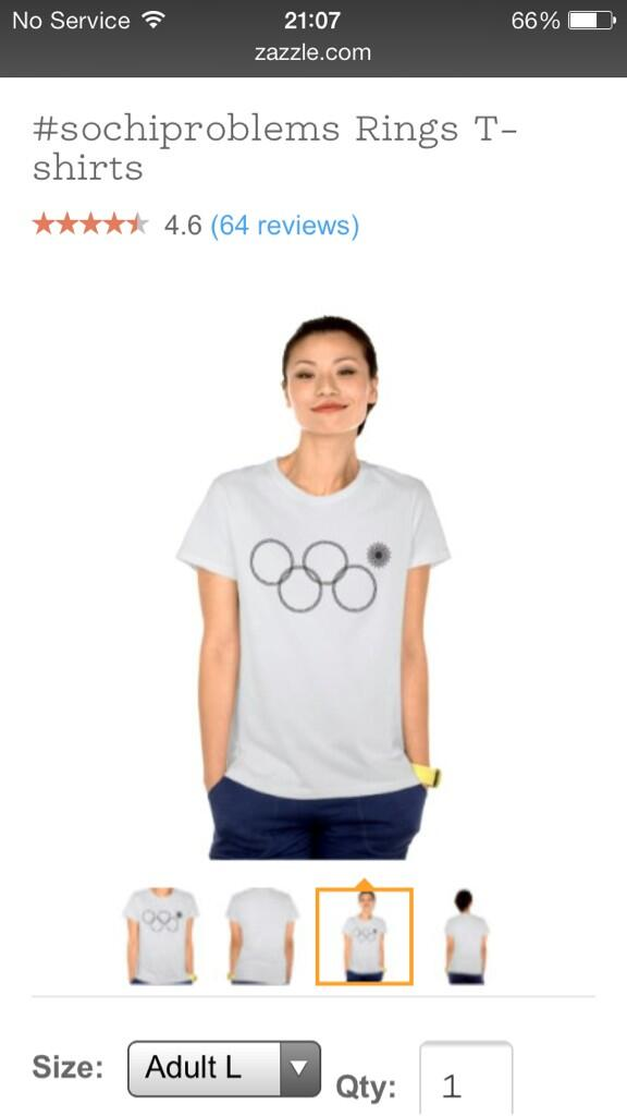 How brilliant! #sochiproblems is already a T-shirt. Great work @zazzle #RingFail http://t.co/QhwQHcM87O