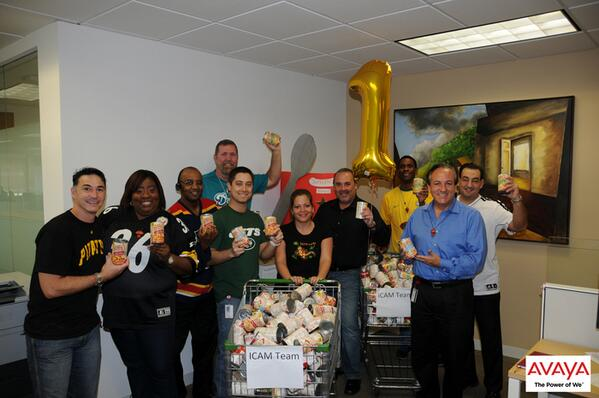 Avaya On Twitter Our Avaya Team In Miami Hosted A Souper