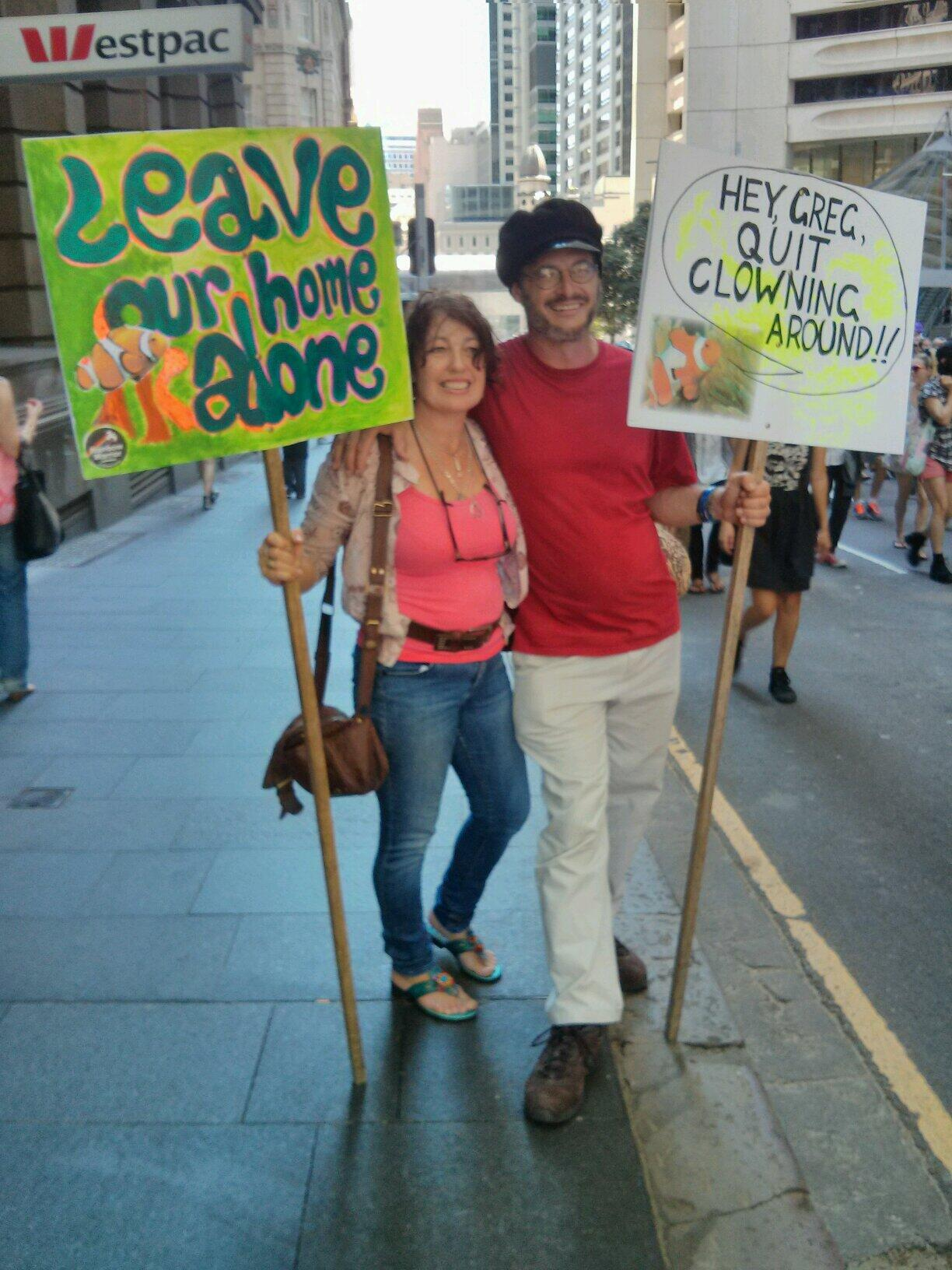 Twitter / GreenpeaceAustP: Some lovely Greenpeace supporters ...