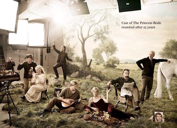 Cast of the Princess Bride reunited after 25 years... http://t.co/1RGNlk3r2B
