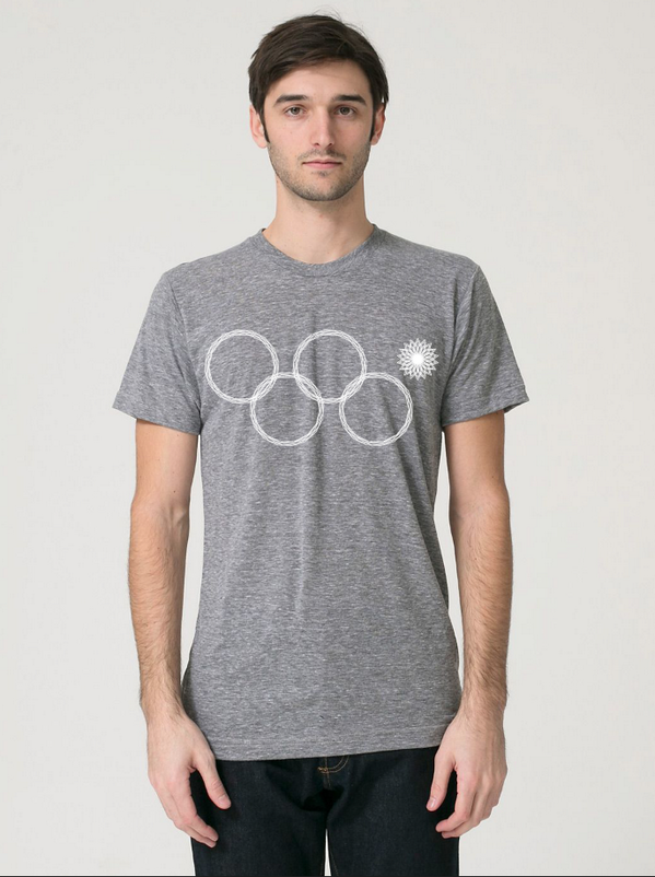 Man that was quick! Russia's take on the Olympic Rings ready for sale. http://t.co/J1aIeIngxp