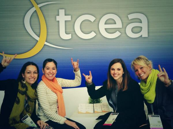 We were very proud to represent #mcwpln at #tcea14 Can't wait to share it all! @Laurml @yanetcardoza @PaigeKrausep