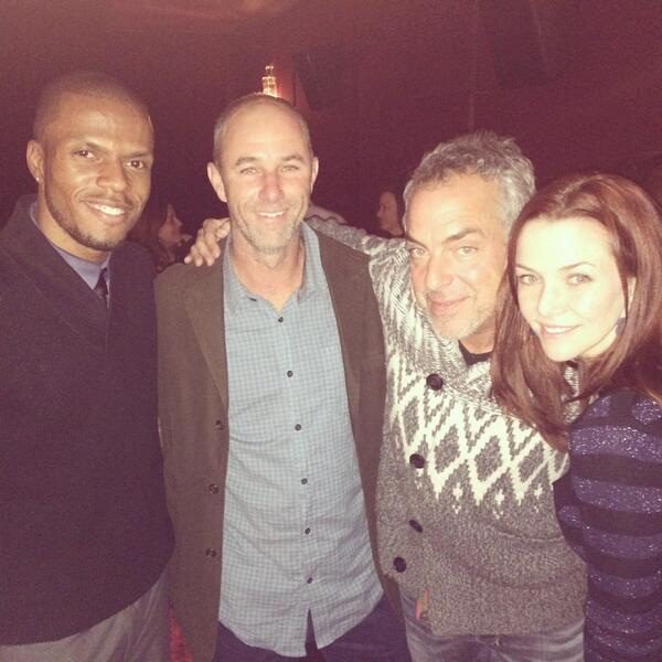 GREAT SCREENING!!! Not just AMAZING actors, but cool & humble people @welliver_titus @Wersching #HarryBosch #BoschTV http://t.co/ujAjomOJF5