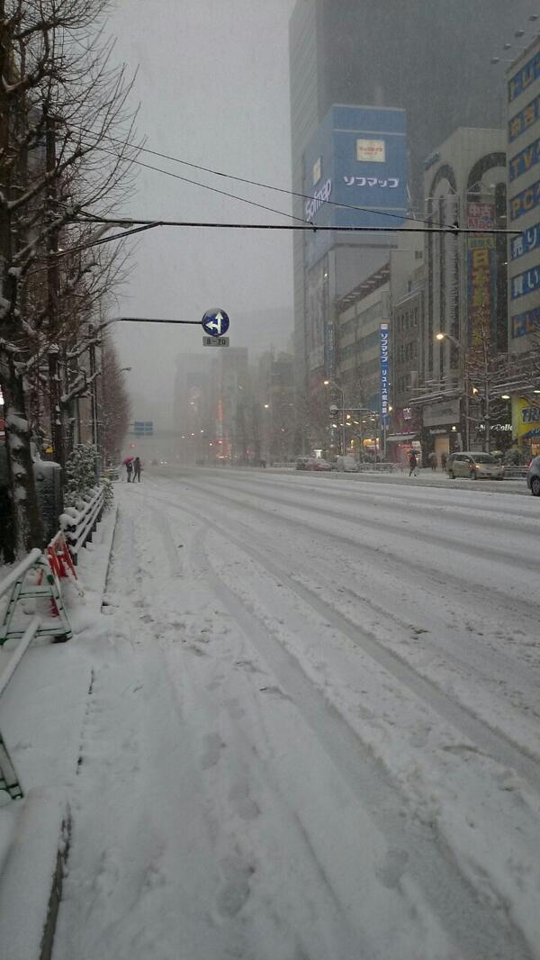 アキバが札幌みたいになっとるwwww http://t.co/8OVDv0Cw7e