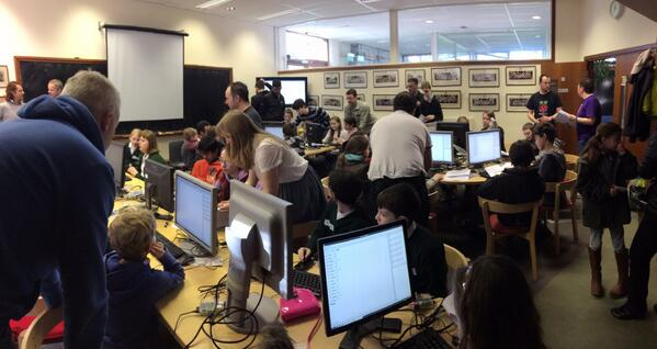 Photo of Sonic Pi workshop