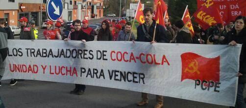 [PCPE y CJC] En CocaCola el puesto de trabajo no se vende, ¡se defiende! Bf9TUbyCEAEvu6y