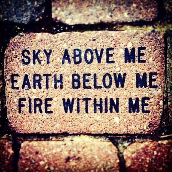 Sky Earth Fire Tattoos