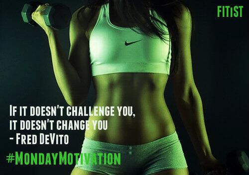 If it doesn't challenge you, it doesn't change you #MondayMotivation http://t.co/u0gRnwGAn7