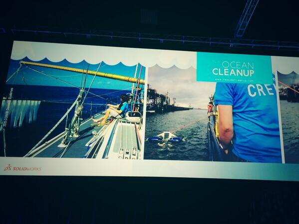 We LOVE @boyanslat's @TheOceanCleanup! See how the SolidWorks Community helped: http://t.co/dDpXCbD9mG #SWW14 http://t.co/sgyBZJl5IF