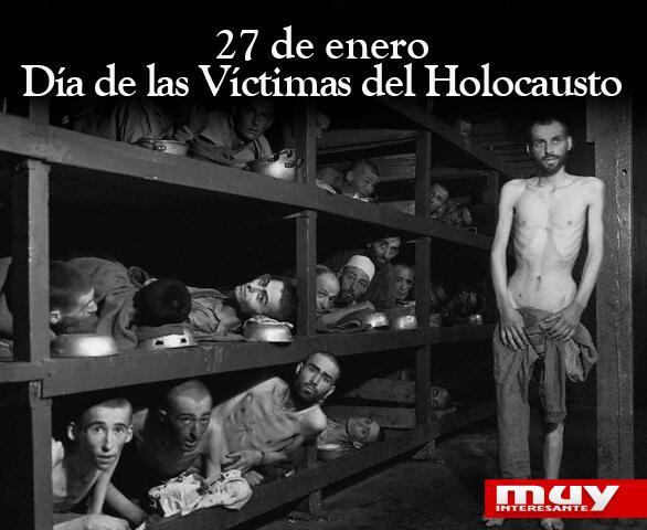 El Día de las Víctimas del Holocausto se celebra hoy por este motivo: http://t.co/Ap4vgUS4pv http://t.co/sDwdXPMSxP
