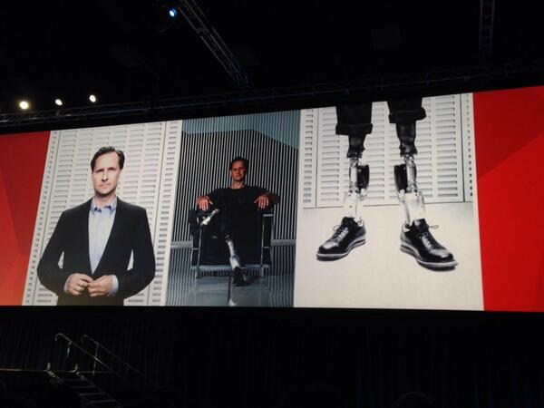 """""""Imagine a future where we can heal a person completely with technology."""" Hugh Herr #biomechatronics MITlabs #sww14 http://t.co/FAqvRt4lws"""