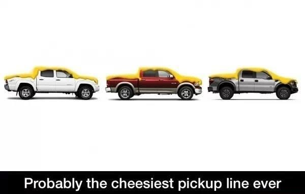 Probably the cheesiest pickup line ever http://t.co/92aAOgbXRi