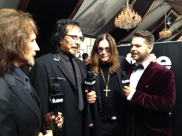 .@OfficialSabbath!!! Love these guys! Congrats on your win last night at @TheGrammys #Grammys http://t.co/OmPxlsA6DJ http://t.co/dVOzJ0R4N6