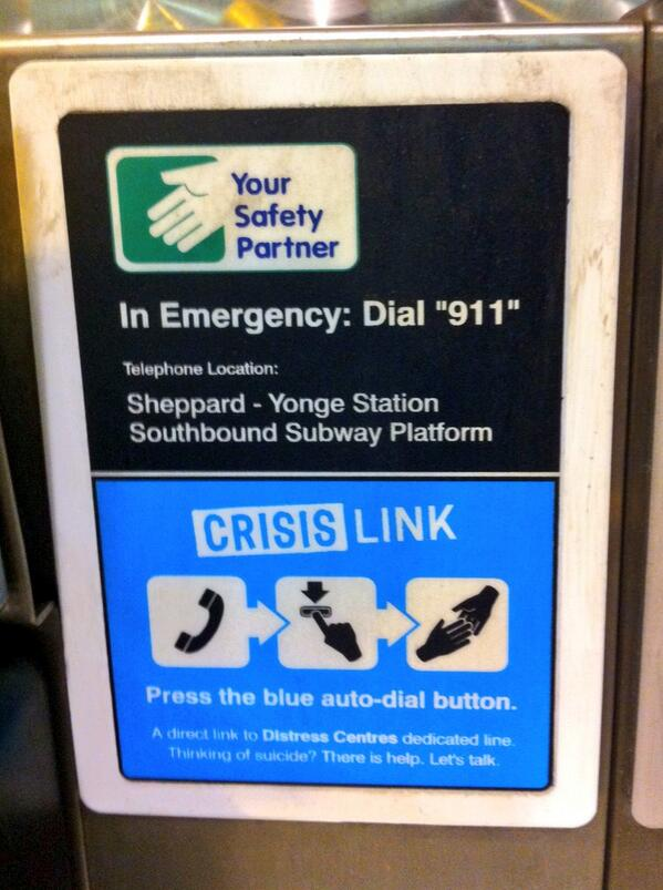 #BellLetsTalk is a #TTC Crisis Link partner with @DC_TO. PLEASE RT to help #EndStigma https://t.co/RYzEFGNk6n http://t.co/TDCS8JUcgD