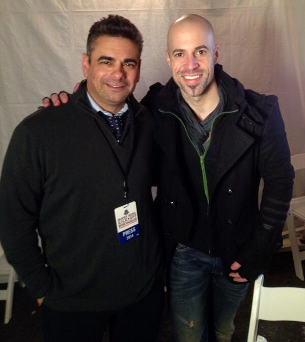 With @chris_daughtry at #Super Bowl kick off concert in frigid Jersey City @fusenewsdesk http://t.co/BGwNbC9mit