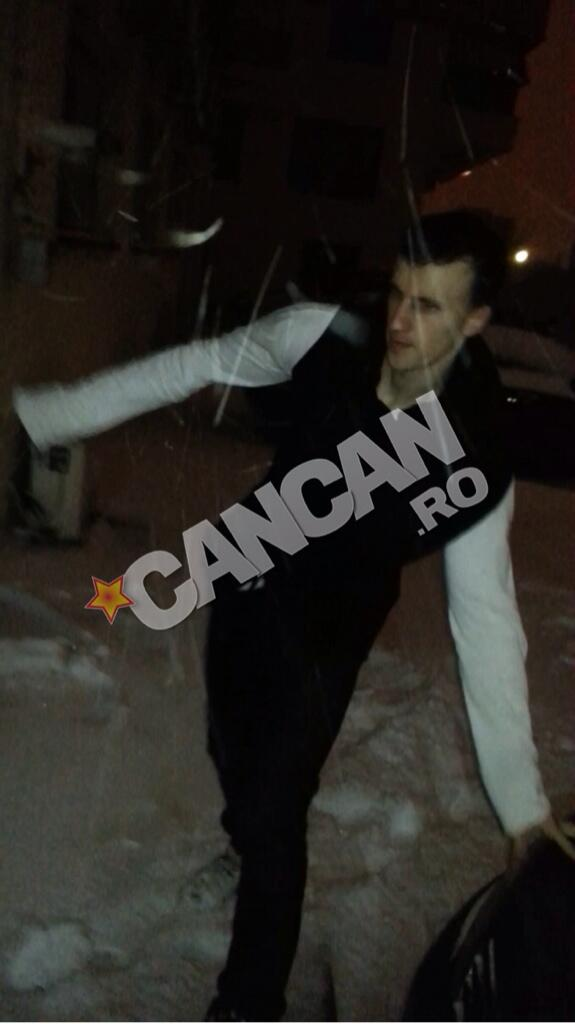 Extended video of Tottenhams Vlad Chiriches so drunk in Bucharest hes barely able to walk