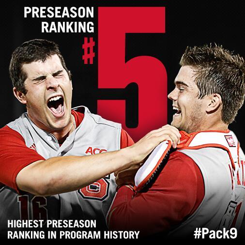 #Pack9 earns highest preseason ranking ever: http://t.co/CP74eZ5TMi http://t.co/sYlOyUsn8y