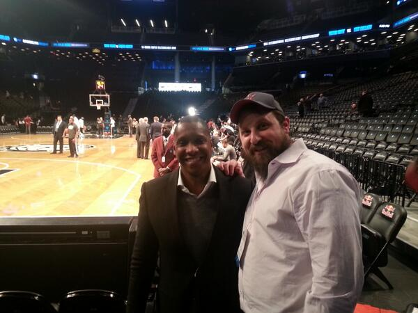 @Raptors GM Masai is in the house here in Brooklyn ! Lets go raps # rtz http://t.co/JpAMLBGDLk