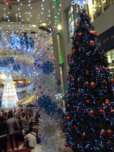 Christmas @ Pavilion Bukit Bintang KL,,, awesome