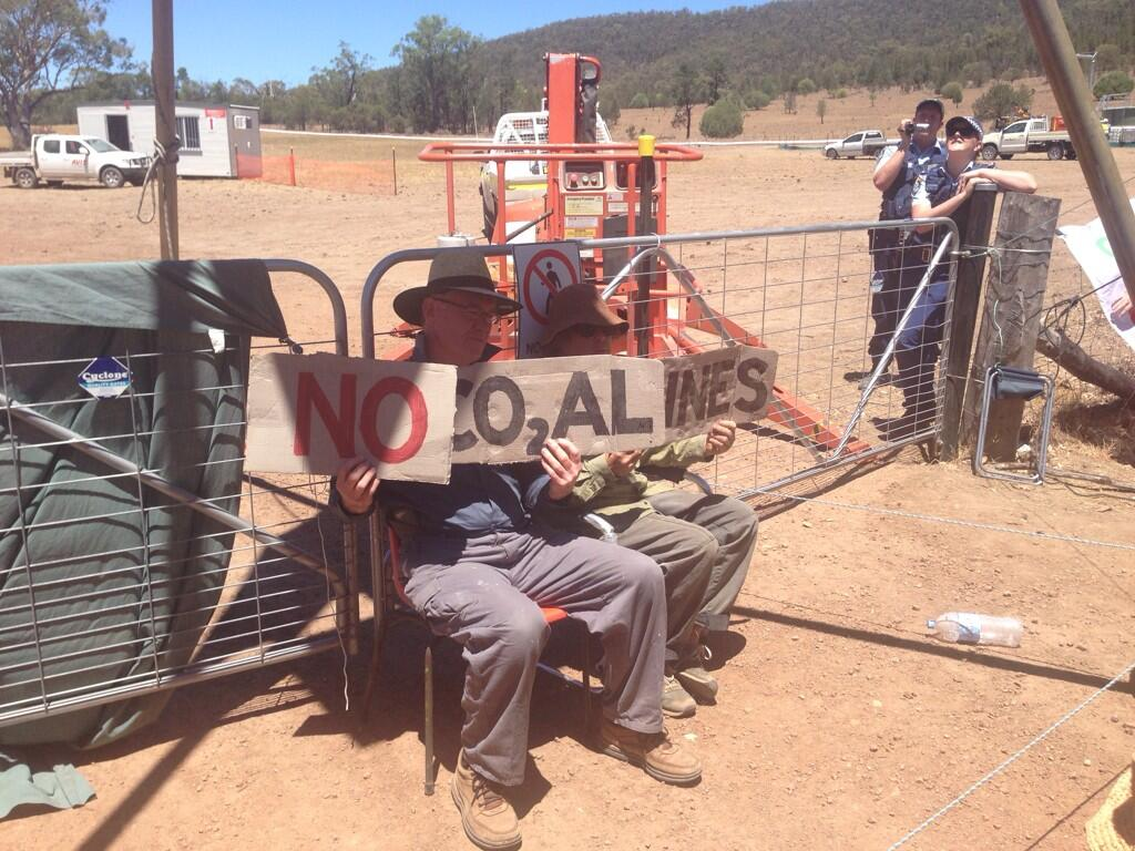 Twitter / GreenpeaceAustP: Leard State Forest protesters ...