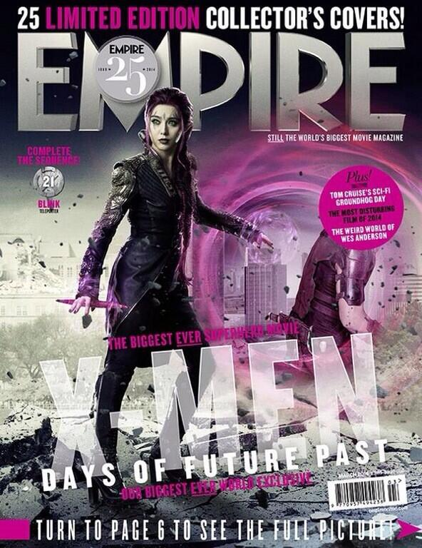Fan Bingbing joins the #XMen cast as Blink, a new mutant capable of creating teleportation portals. New #Empire25! http://t.co/GvVhY0qPj5
