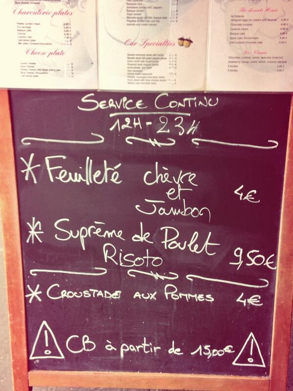 Gladines st germain chezgladines twitter for Carrelage du sud boulevard saint germain
