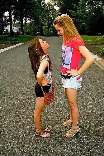 Quotes For Tall And Short Friends : A tall treat on twitter quot every girl needs short