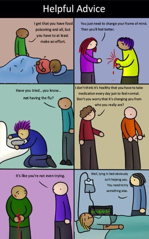 If physical health was treated the same way mental health is. #BellLetsTalk http://t.co/rbm0SLtdHI