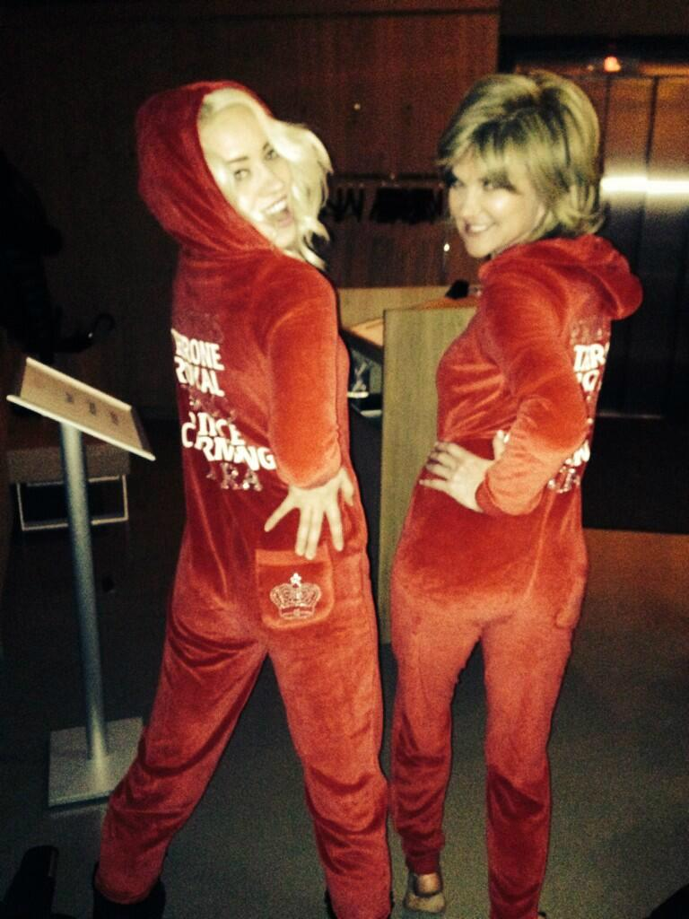 RT @AmyC_Boutique: Looking the look @AntheaTurner1 and @KimberlyKWyatt #amychildsonesies #princessonesies http://t.co/q7iz4nETWj