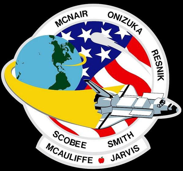 It's 11:38 AM EST 28 January, Godspeed the crew of Space Transportation System Flight 51L, Space Shuttle Challenger http://t.co/DRK4YdEpRQ