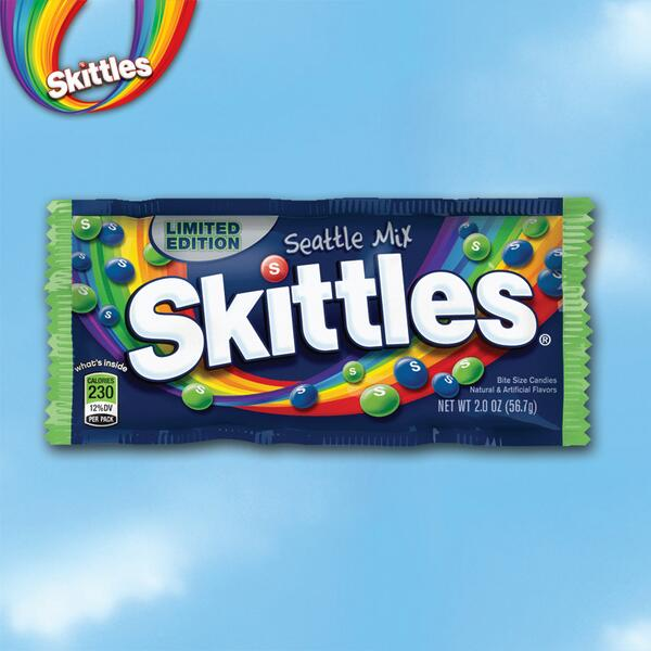 "Limited edition Skittles ""Seattle Mix""! This is me returning the biggest high 5 ever to @MoneyLynch & fans. #ad http://t.co/J2pDIViEfb"