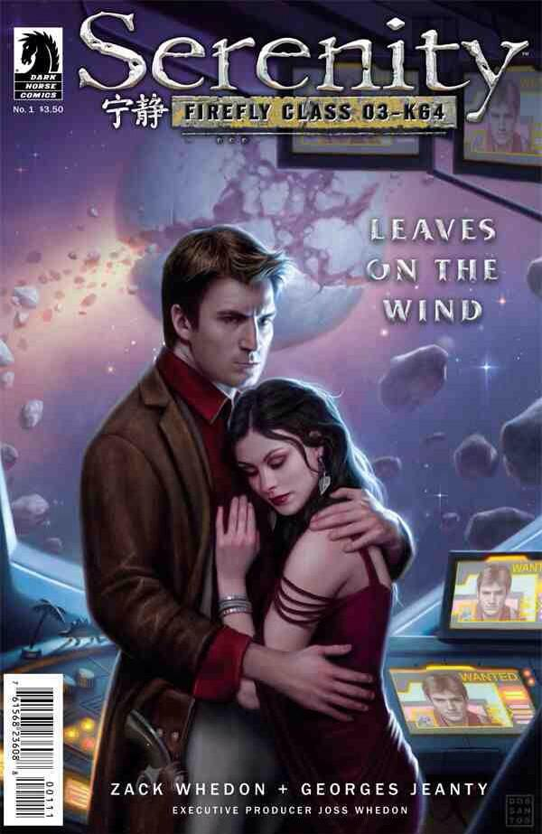 Here's the cover to Serenity: Leaves on the Wind. It tells the tale of what happened after the movie. #malfrown http://t.co/Jrw4h58clO