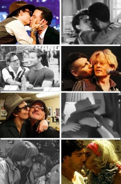 "Johnny Depp's ""GAY"" moments!"