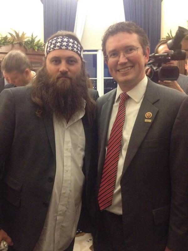 With Willie Robertson @williebosshog from @DuckDynastyAE before the State of the Union #SOTU http://t.co/A7KN47s4CV