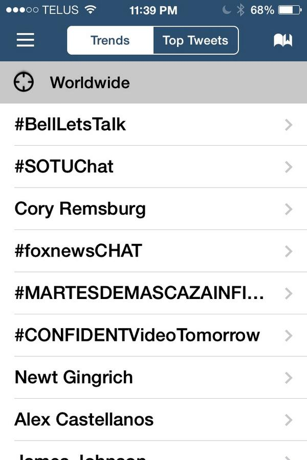 Is #bellletstalk really trending at #1??? @Bell_LetsTalk Whoo hoo!!! http://t.co/IwL6fzLpiS