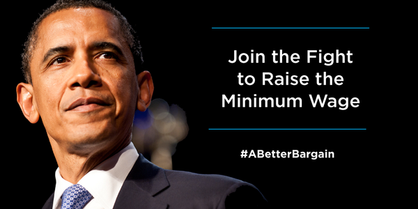 Retweet if you agree that it's time to #RaiseTheWage for American workers: http://t.co/XMR9h34C4M #SOTU http://t.co/NcJiisRitO