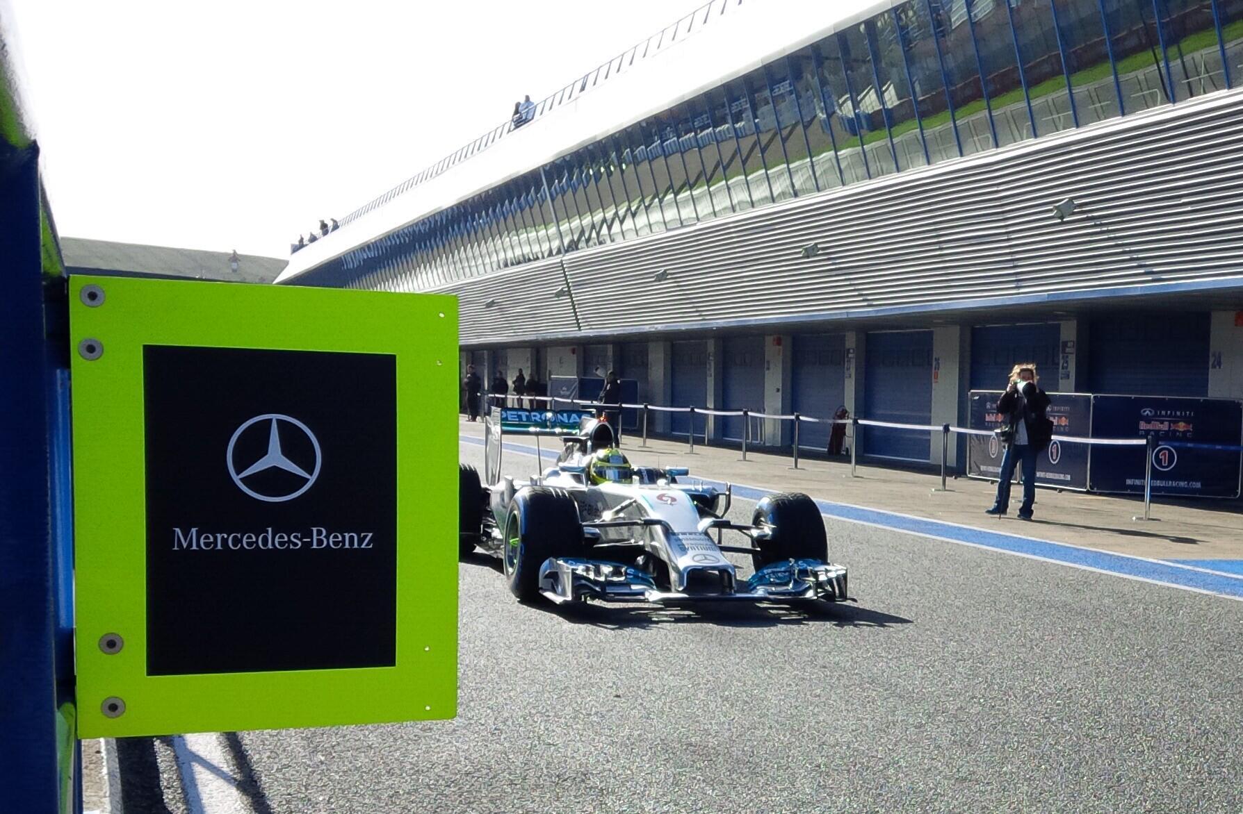 Rosberg Mercedes W05