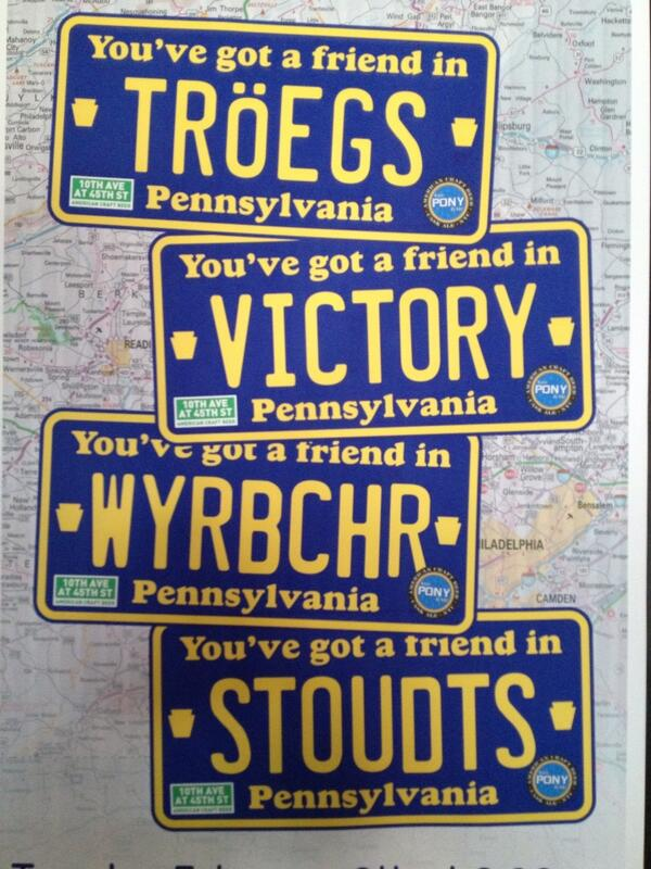 You've Got a Friend in Pennsylvania with @Weyerbacher Tuesday, February 4th. #Keystone http://t.co/QG7vaPJ0OU