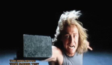 「マイティ・ソー」のロキ役トム・ヒドルストンが、ソーのオーディションを受けたときの映像。 続き⇨ #映画 #アメコミ